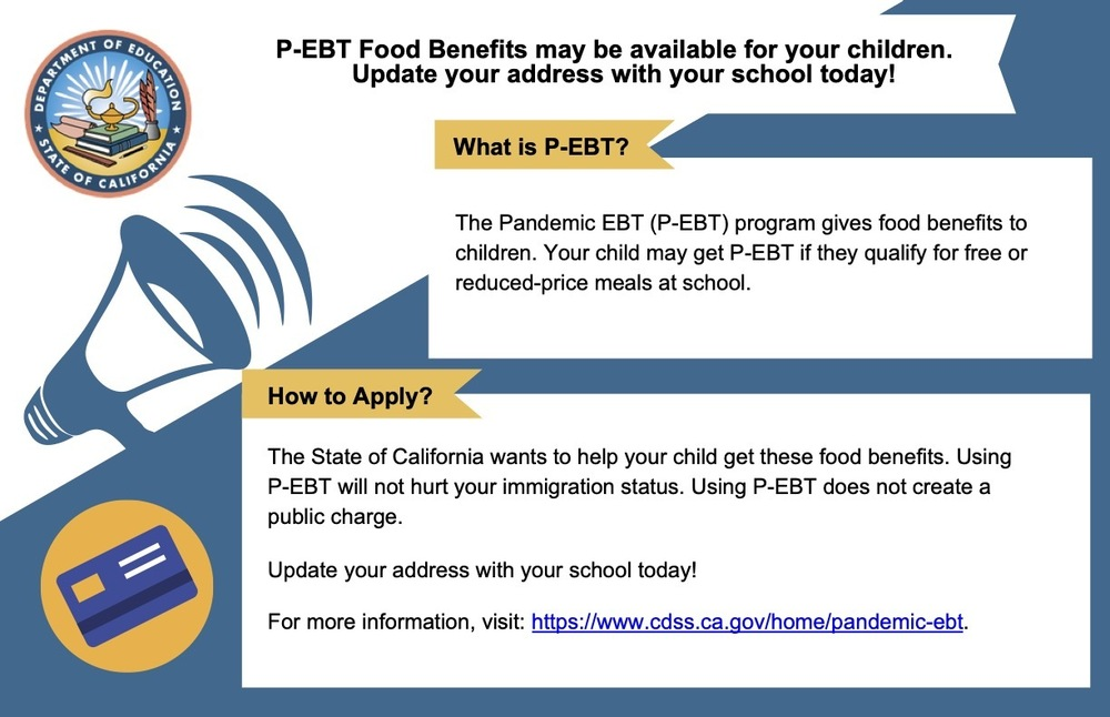 P-EBT Announcement